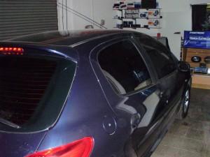 Polarizado Peugeot 207 lateral derecho