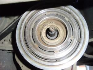 Compresor de Aire Acondicionado de Ecosport sin el plato