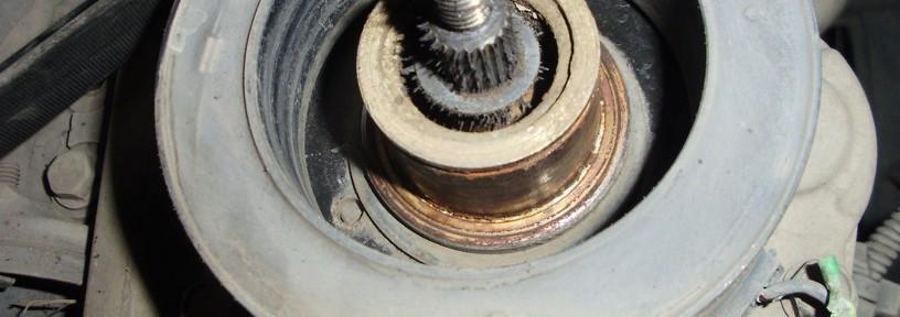 Compresor de Aire Acondicionado de Ecosport sin la polea