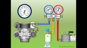 Prueba de Presion para Aire Acondicionado Automotor